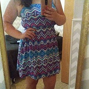 Rue 21 all color dress